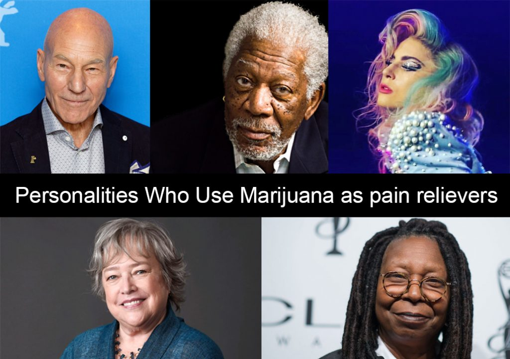 personalities marijuana pain